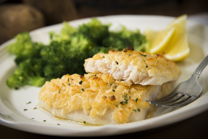 Deann's Idaho® Potato Cheese Halibut