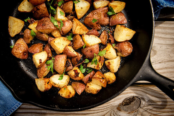 Crispy Grilled Red Potatoes