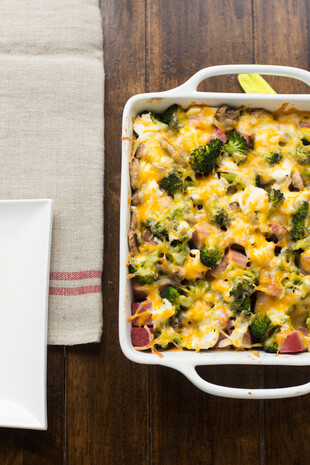 Classic Idaho® Potato Ham Bake