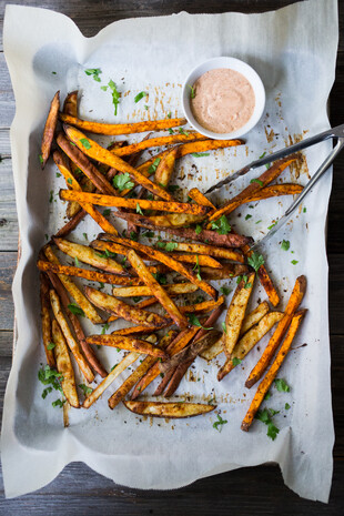 Baked Harissa Fries