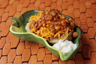Very Veggie Chili Idaho® Potatoes