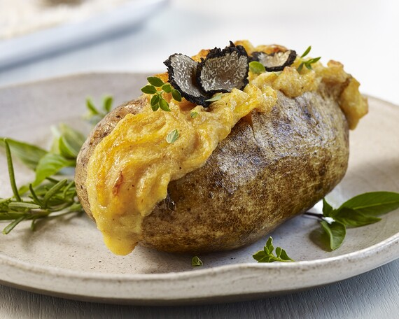 Bone Marrow-Stuffed Idaho® Potato