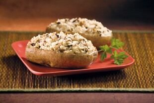 Shiitake Mushroom Stuffed Idaho® Potatoes