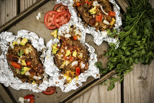 Smoked and Loaded Baked Idaho® Potatoes
