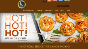 IIDAHO POTATO COMMISSION LAUNCHES NEW WEBSITE PACKED WITH UPGRADES