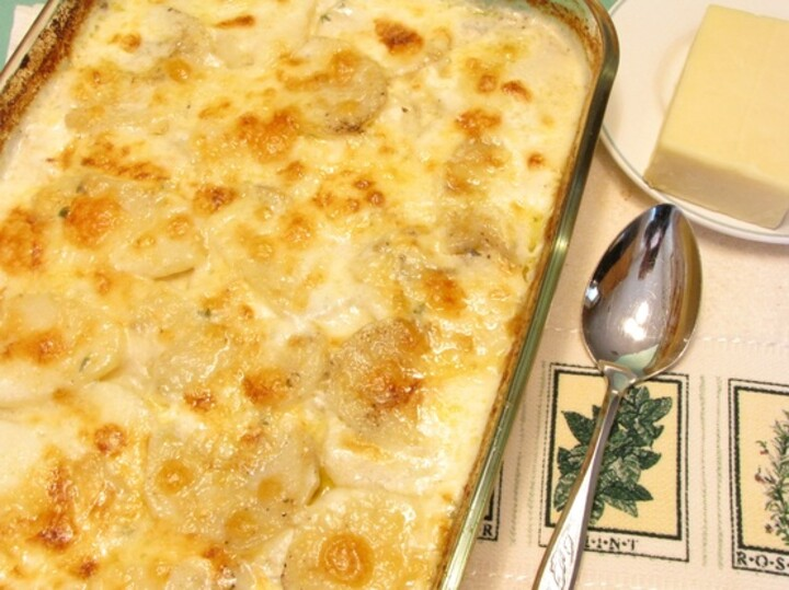 Idaho® Potato and Wisconsin White Cheddar Gratin