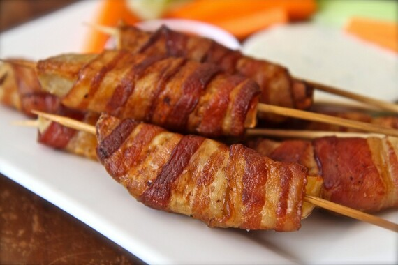 Bacon Blitz Potato Skewers