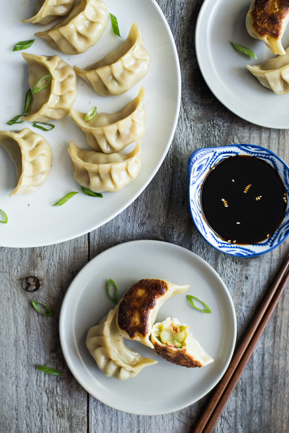 Curried Idaho® Potato Pot Stickers