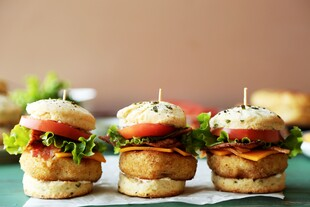 Loaded Idaho® Baked Potato Sliders
