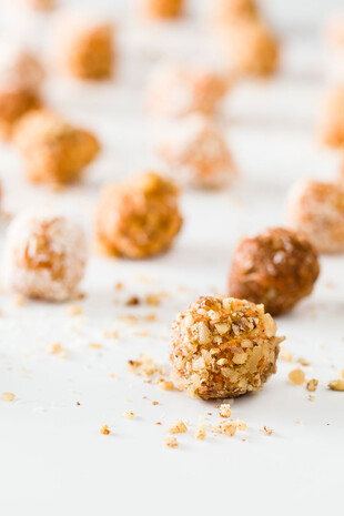 Carrot Cake Idaho® Potato Truffles