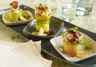 Peruvian Causa Sampler