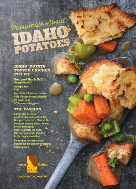 Idaho® Potato Topped Chicken Pot Pie