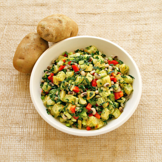 Hoppin' John Idaho® Potato Salad