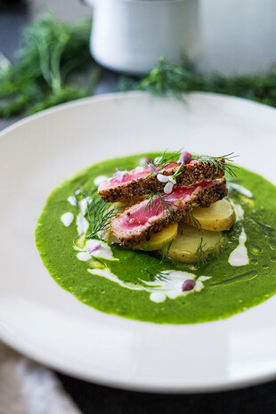 Nordic Spring Ahi with Idaho® Potatoes