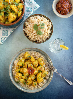 Indian-Style Cumin Idaho® Potatoes (Aloo Jeera)