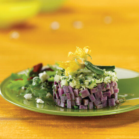 All Blue Idaho® Potato Tabouli