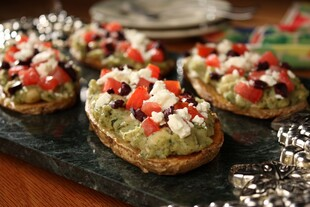 "Idaho® Potato ""Plank"" Bruschetta"