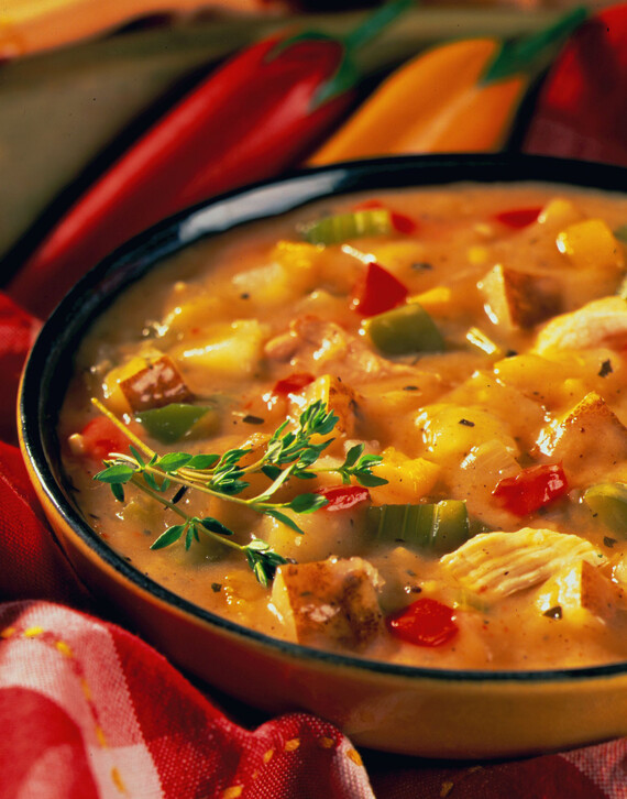 Idaho® Potato and Chicken Gumbo