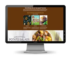 IDAHO POTATO COMMISSION REDESIGNS WEBSITE TO ENHANCE USER EXPERIENCE