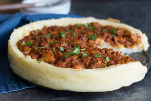 Idaho® Potato Sloppy Joe Pie