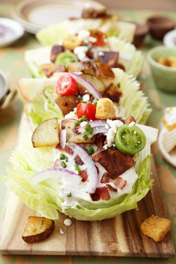 Crispy Idaho® Potato Wedge Salads