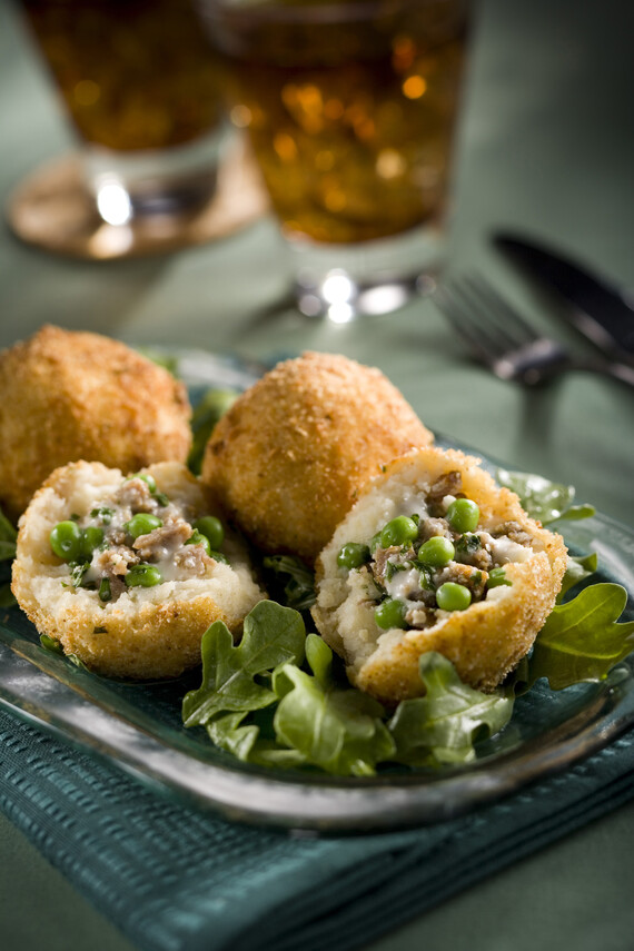 Idaho® Potato Arancini