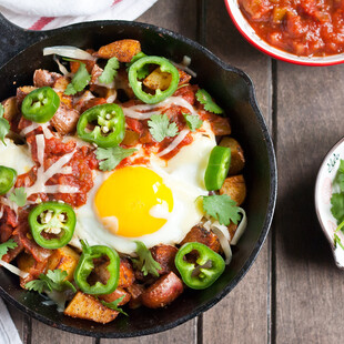 Idaho® Potato Huevos Rancheros