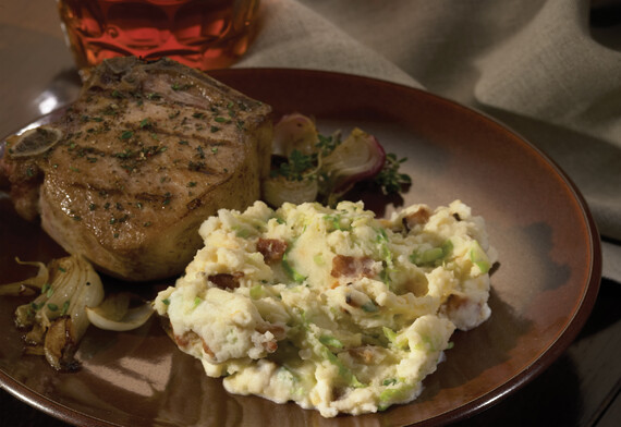 Idaho® Potato Cheesy Ale & Cheddar Colcannon