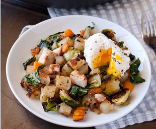 Idaho® Potato, Chicken and Vegetable Hash