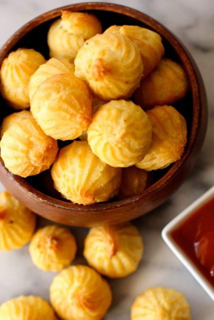 Potato-Cheese Puffs