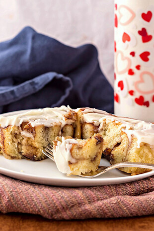 Sweet Dough for Soft, Gooey Cinnamon Rolls with Idaho® Potatoes