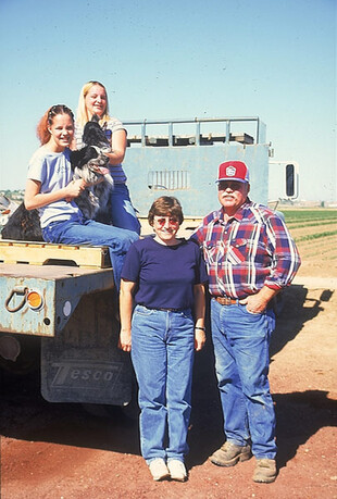 Idaho Family on Truck