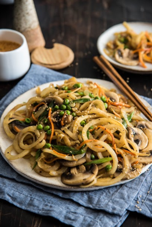Chinese Fried Idaho® Potato Noodles