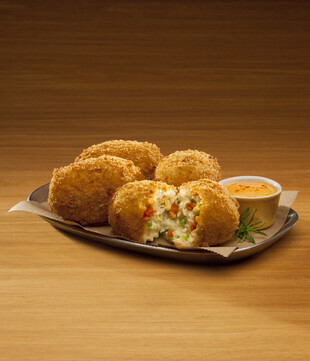 Idaho® Potato Chorizo Croquettes with Smoked Paprika Aioli