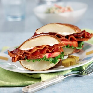 Bacon, Lettuce, Tomato and Idaho® Potato Sandwich