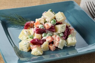 Russian Beet and Idaho® Potato Salad