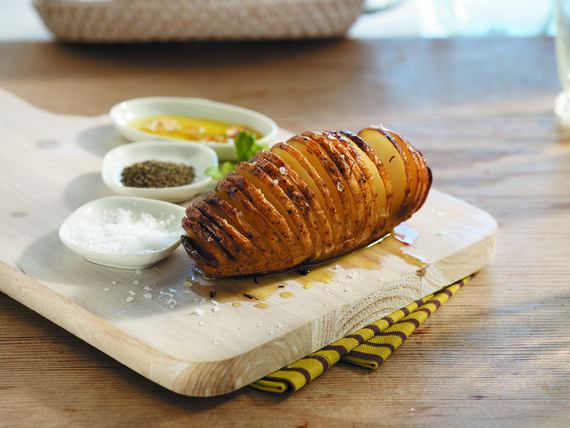 Hasselback Idaho® Potatoes