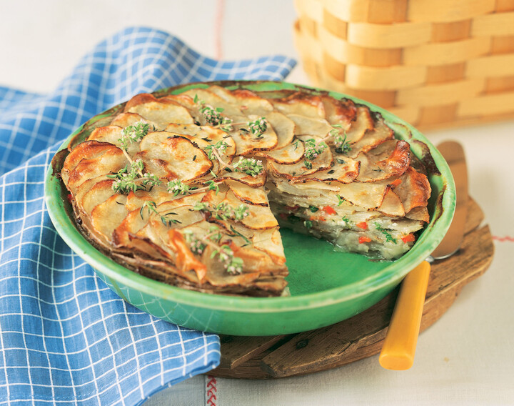 Idaho® Potato Tart
