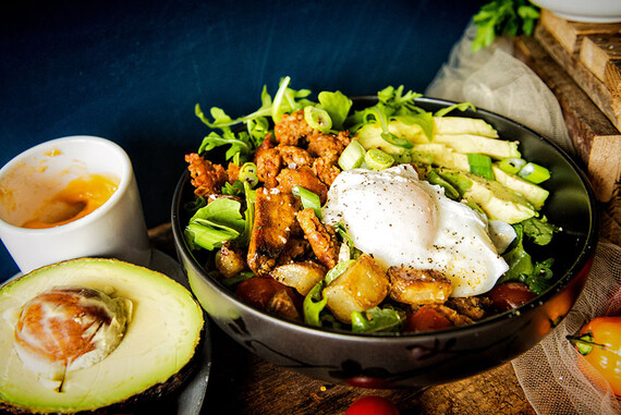 Chorizo Hash Breakfast Bowl