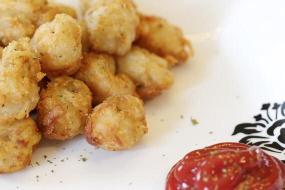 Homemade Idaho® Potato Cheesy Potato Tots
