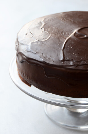 Mashed Idaho® Potato Chocolate Cake with Easy Whipped Chocolate Ganache