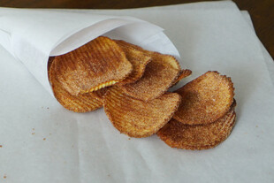 Cinnamon-Sugar Oven Fried Idaho® Potato Chips