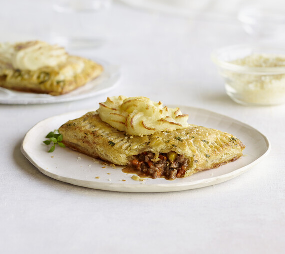 Ted's Bulletin Shepherd's Pie Tart
