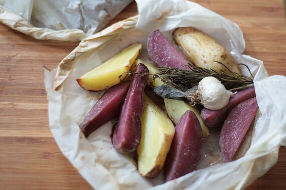 Parchment Roasted Fingerlings
