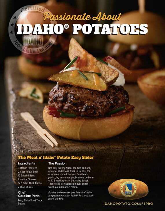 The Meat n' Idaho® Potato Easy Slider