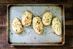 Basic Twice Baked Potatoes
