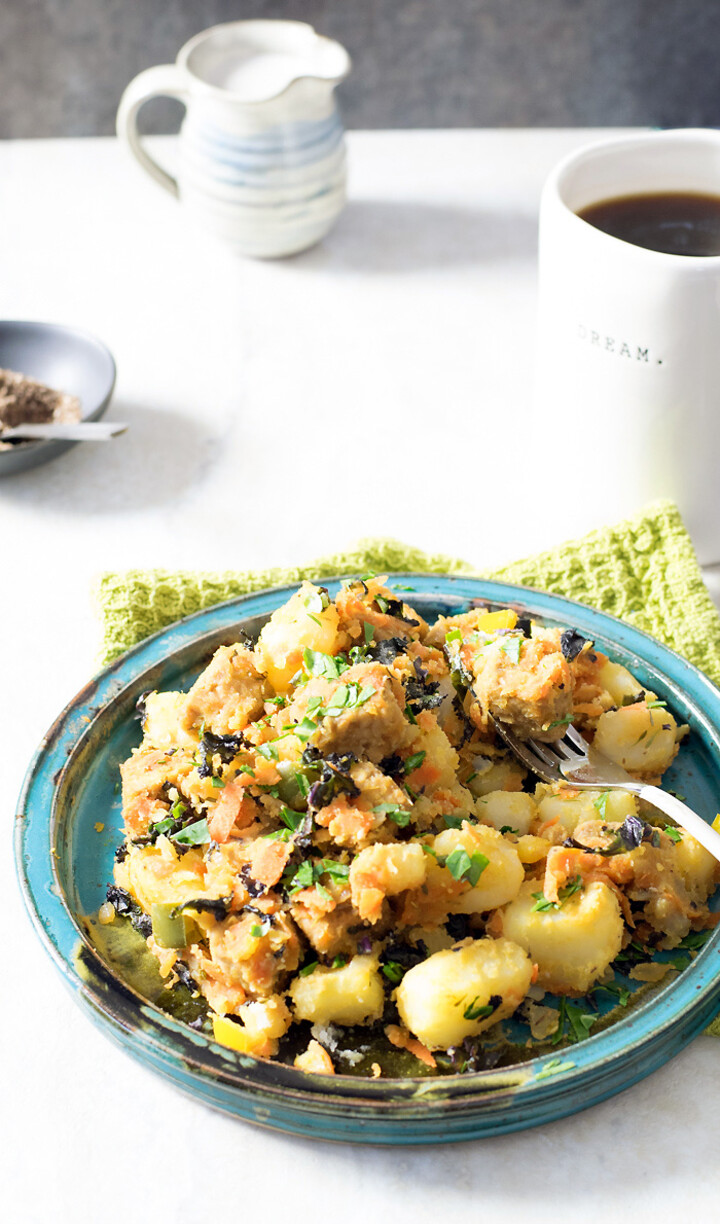 """I Love Idaho® Potatoes"" Tempeh Hash with Veggies"