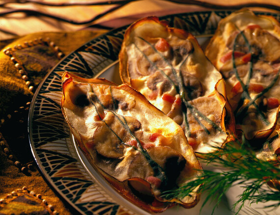 Potato and Wild Mushroom Ravioli
