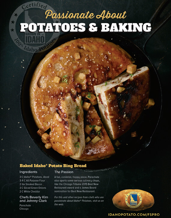 Baked Idaho® Potato Bing Bread