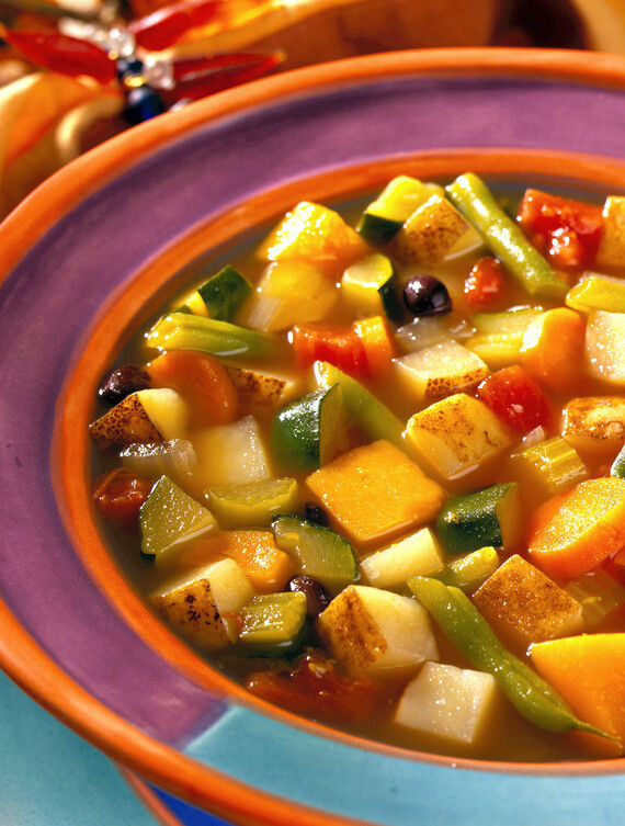 New World Idaho Vegetable Soup with Southwestern Spicings